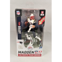 Tom Brady Variant White Jersery McFarlane Madden NFL 17 Ultimate Team Series 1