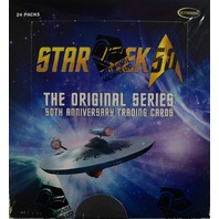 2018 Rittenhouse Star Trek The Original Series 50th Anniversary BOX (Sealed)