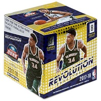 2017/18  Panini Revolution Basketball Hobby 8 Box Case (Factory Sealed)
