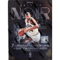 2017/18 Panini Noir NBA Basketball Hobby 10 Card Box/Pack (Sealed) ?Barkley Auto
