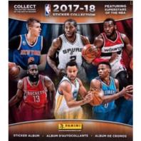 2017/18 Panini NBA 72 Page Sticker Album