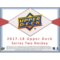 2017/18 Upper Deck UD Series 2 Hockey Hobby 12 Box CASE (Sealed)