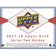 2017/18 Upper Deck UD Series 2 Hockey Hobby 8 Card PACK (Sealed)