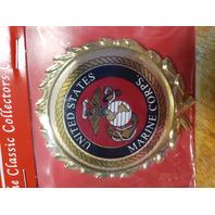 "Vanguard USMC Marine Corps Emblem For Shadow Boxes 2-1/2"""