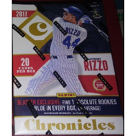 2017 Panini Chronicles Baseball 4 Pack Blaster Box (Factory Sealed)