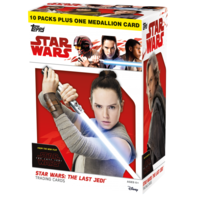 2017 Topps Star Wars: The Last Jedi Blaster Box (Sealed)