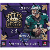 2017 Panini Crown Royale Football Retail Box (Sealed)