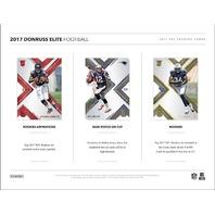 2017 Panini Donruss Elite Football Hobby Box (Sealed)(20 Pack s)