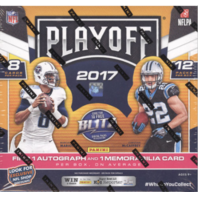 2017 Panini Playoff Football Hobby 12 Pack Box (Sealed)