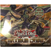 Yugioh Maximum Crisis 1st Edition Booster Box (24 packs)(Sealed)