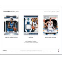 2018/19 Panini Certified Basketball 10 Pack Hobby Box (Sealed)