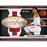 2018/19 Panini Certified Basketball 10 Pack Hobby Box (Sealed)