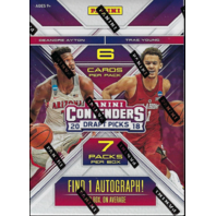 2018/19 Panini Contenders Draft Picks NCAA Blaster Box (Sealed)(7 Packs)