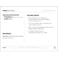 2018/19 Panini Prizm Basketball 12 Rack Pack Retail Box (Sealed)