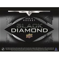 2018/19 Upper Deck UD Black Diamond Hockey Hobby BOX (Factory Sealed)