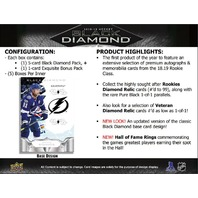 2018/19 Upper Deck UD Black Diamond Hockey Hobby 10 Box MASTER CASE (Sealed)