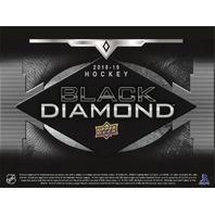 2018/19 Upper Deck UD Black Diamond Hockey Hobby 10 Box MASTER CASE (Sealed)