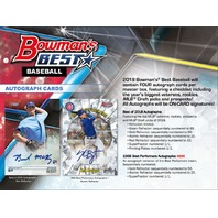 2018 Bowman's Best Baseball Hobby Master Box (Factory Sealed)(Random)