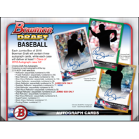 2018 Bowman Draft Picks & Prospects Baseball HTA Jumbo Hobby PACK (Sealed)Random