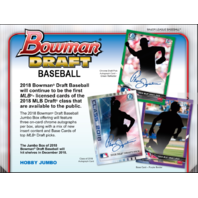 2018 Bowman Draft Picks Prospects Baseball HTA Jumbo Hobby 8 Box CASE (Sealed)