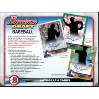 2018 Bowman Draft Picks & Prospects Baseball Super Jumbo BOX Sealed ships 12/5