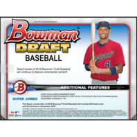 2018 Bowman Draft Picks & Prospects Baseball Super Jumbo 6 Box CASE Ships 12/5