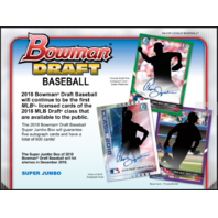 2018 Bowman Draft Picks & Prospects Baseball Super Jumbo 6 Box CASE (Sealed)