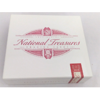 2018 Panini National Treasures NT Baseball Trading Cards Empty Cedar Cigar Box