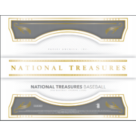 2018 Panini NT National Treasures Baseball Hobby Box (8 Cards)(Factory Sealed)