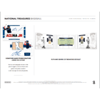 2018 Panini NT National Treasures Baseball Hobby 4 Box Case (Factory Sealed)