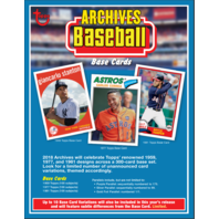 2018 Topps Archives Baseball Blaster Box Sealed
