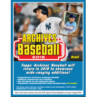 2018 Topps Archives Baseball 7 Pack Blaster Box (Sealed)