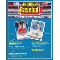 2018 Topps Archives Baseball 8 Card Pack (Sealed)(Random)