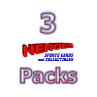 Three(3) 2018 Topps Chrome Baseball Hobby 4 Card PACK (Sealed) (Random)