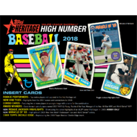 2018 Topps Heritage High Number Edition Baseball Hobby 24 Pack Box (Sealed)