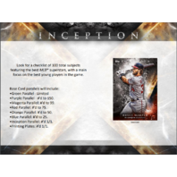 "2018 Topps Inception Baseball Hobby 7 Card ""Pack/Box"" (Sealed)"