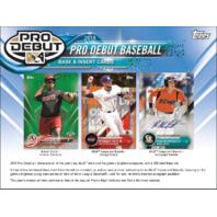 2018 Topps Pro Debut Baseball Hobby Pack (Sealed)(1 Random Pack)
