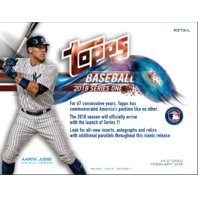 2018 Topps Series 1 Baseball Blaster Box Sealed