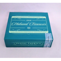 2018 Panini National Treasures NT Collegiate Football Cards Empty Cedar Box
