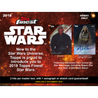 2018 Topps Star Wars Finest Hobby Master Box (Sealed)