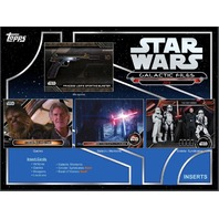 (3) Three 2018 Topps Star Wars Galactic Files Hobby 8 Card PACK (Sealed)