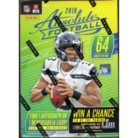 2018 Panini Absolute Football Blaster Box (Sealed)(8 Packs)