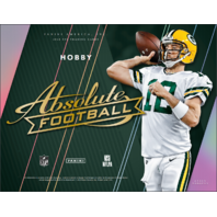 2018 Panini Absolute Football 3 Mini-Box/Pack Hobby Box (Sealed)