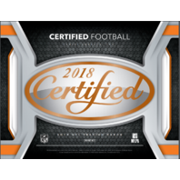 2018 Panini Certified Football Hobby Box (10 Pack s)(Sealed)