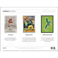 2018 Panini Donruss Classics Football Hobby 10 Card PACK (Sealed)
