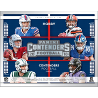 2018 Panini Contenders Football Hobby 18 Pack Box (Sealed)