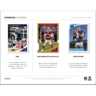 2018 Panini Donruss Football Hobby 10 Card PACK (Sealed)