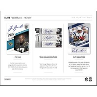 2018 Panini Donruss Elite Football 1 Hobby Pack (Sealed)(Random)