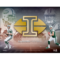 2018 Panini Illusions Football Hobby Box (10 Packs)(Sealed)