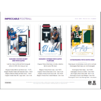 2018 Panini Impeccable Football Hobby 8 Card Pack/Box (Sealed)
